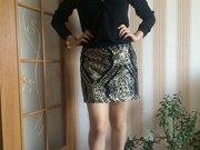 продам черную юбку .