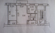 Продам 2-х комнатную квартиру на 342 квартале